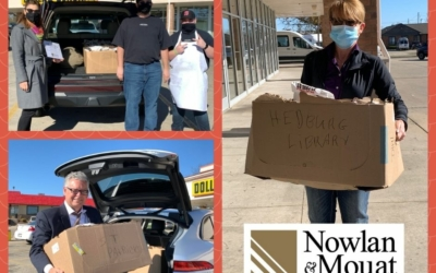 Nowlan Attorneys Bring Lunch to Poll Workers